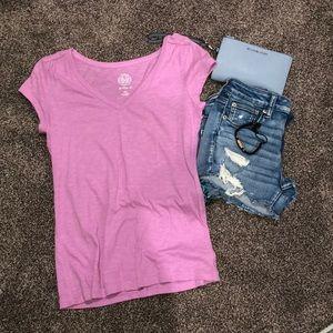 Purple T-shirt